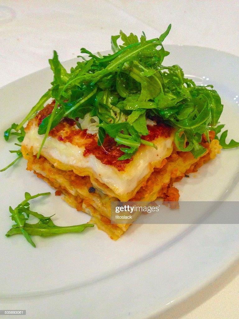 Lasagna : Stockfoto