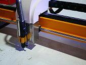 Machine Part, Push Button, Stop - Single Word, Laser, Cutting