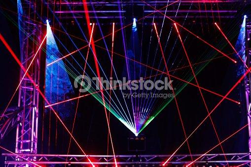 laser light show : Stock Photo