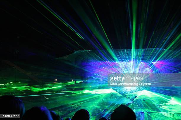 Laser Lights In Nightclub
