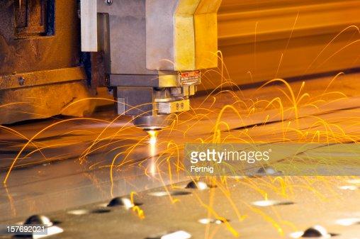 CNC laser metal cutting tool
