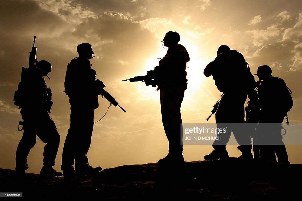 In this file photograph dated 17 May 2006 British soldiers from 21 Air Assault Battery Royal Artillery who are providing the Helmand Task Force...