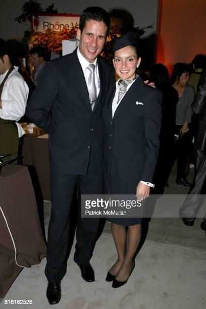 Lassad Khasen and Abra Segerson attend NEW YORK TASTE Culinary Event at Skylight SoHo on November 1 2010 in New York