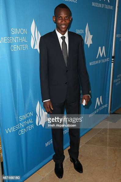 Lassana Bathily attends the Simon Wiesenthal Center 2015 National Tribute Dinner honoring Harvey Weinstein at The Beverly Hilton Hotel on March 24...