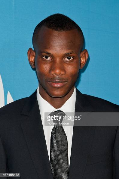 Lassana Bathily attends the Simon Wiesenthal Center's national tribute dinner at The Beverly Hilton Hotel on March 24 2015 in Beverly Hills California