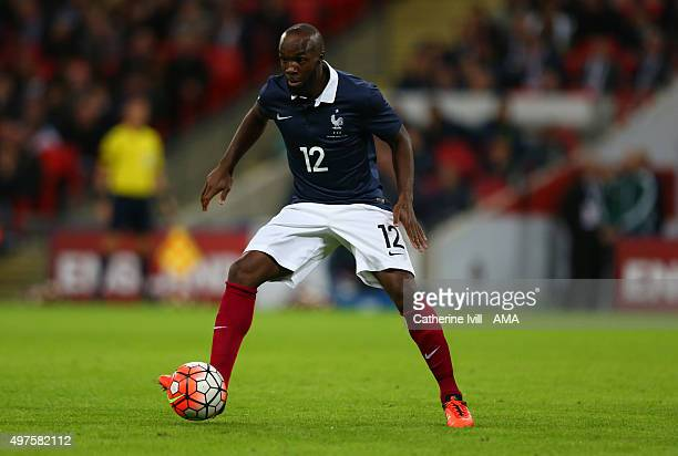 Lassana Diarra of France during the international friendly between England and France at Wembley Stadium on November 17 2015 in London England