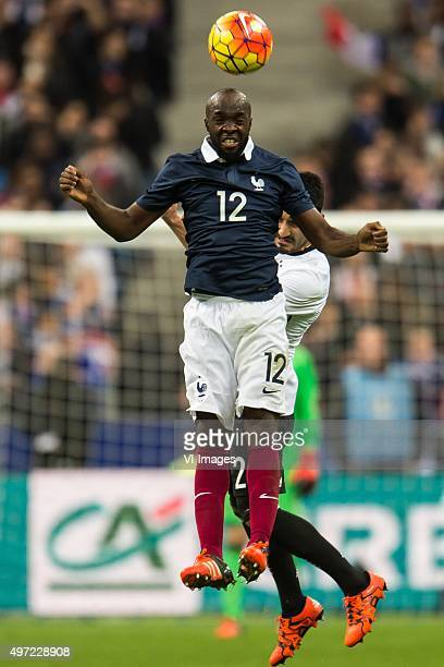 Lassana Diarra of France Ilkay Gundogan of Germany during the International friendly match between France and Germany on November 13 2015 at the...