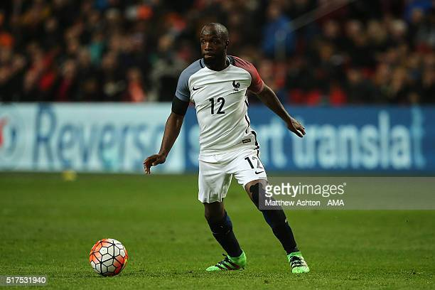 Lassana Diarra of France in action during the International Friendly match between Netherlands and France at Amsterdam Arena on March 25 2016 in...