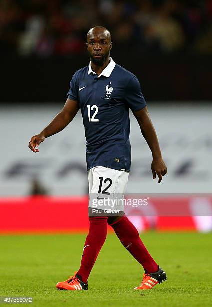 Lassana Diarra of France looks on during the International Friendly match between England and France at Wembley Stadium on November 17 2015 in London...