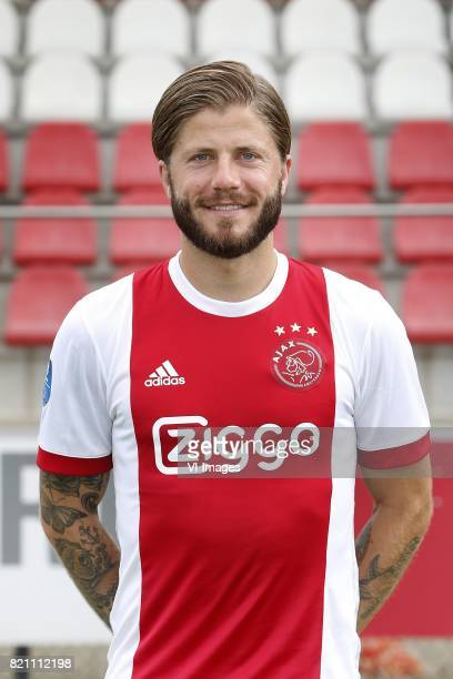 Lasse Schone during the team presentation of Ajax on July 22 2017 at the at the Toekomst in Amsterdam The Netherlands