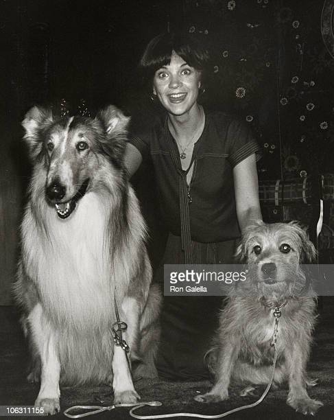 Lassie Cindy Williams and Benji during 'For the Love of Benji' Premiere Party at Beverly Hilton Hotel in Beverly Hills California United States
