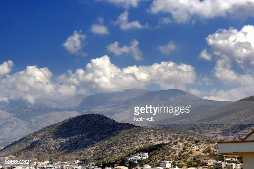 lassini mountains crete : Stock Photo