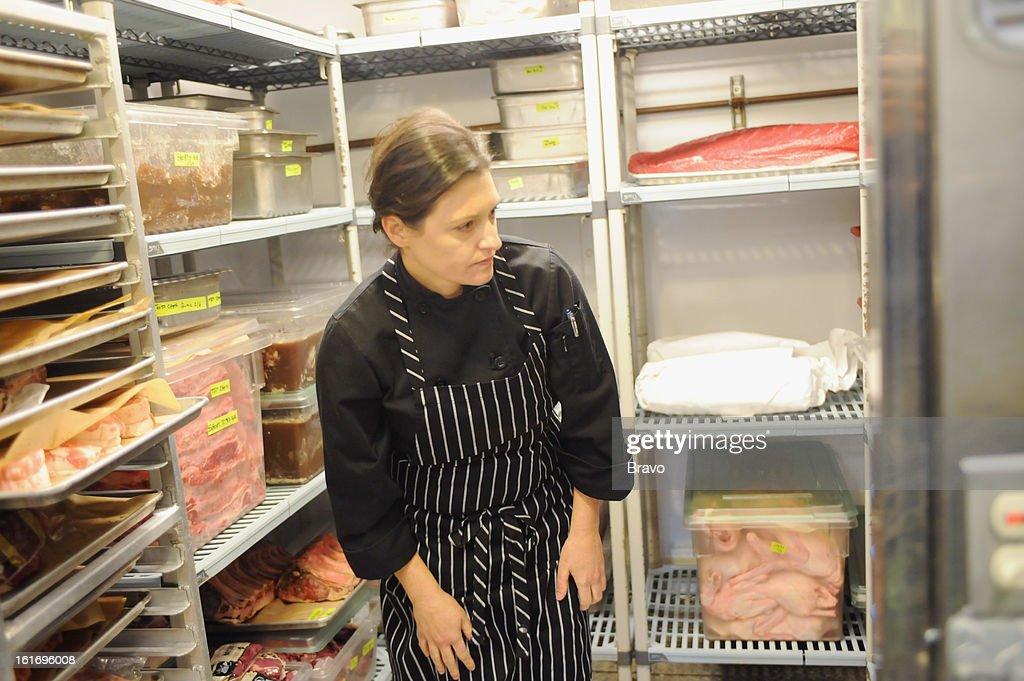 TOP CHEF -- Last Chance Kitchen 'Joshua vs. Lizzie vs. Kristen' Episode 212 -- Pictured: Contestant Elizabeth 'Lizzie' Binder --