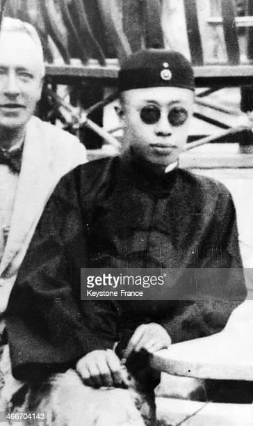 Last Chinese Emperor Puyi of Manchuria circa 1930