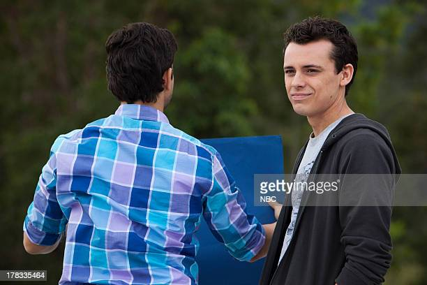 CAMP 'Last Days of Summer' Episode 110 Pictured Adam Garcia as Todd Thom Green as Kip Wampler