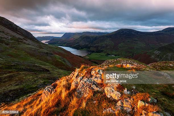 Last Light, Haystacks, Buttermere, Lake District, Cumbria, England