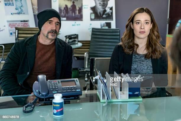 D 'Last Minute Resistance' Episode 419 Pictured Elias Koteas as Alvin Olinsky Marina Squerciati as Kim Burgess