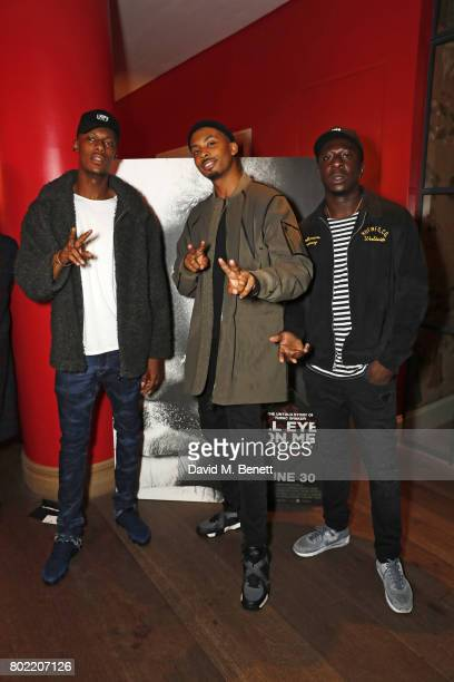 Last Night In Paris attend a special screening of 'All Eyez On Me' at The Ham Yard Hotel on June 27 2017 in London England