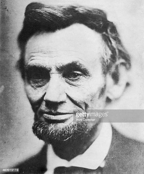 Last photograph of Abraham Lincoln 16th president of the United States of America April 1865 Lincoln joined the Republican party in 1858 and was...