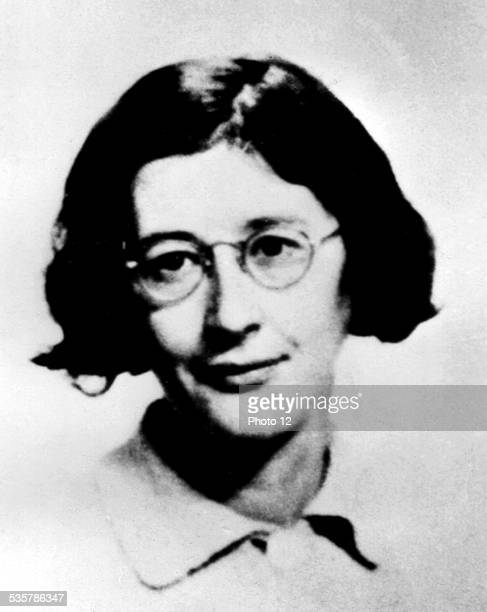 Last photograph of Simone Weil 20th century France Private collection