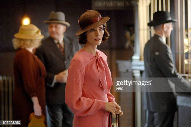 TIMELESS 'Last Ride of Bonnie Clyde' Episode 108 Pictured Abigail Spencer as Lucy Preston
