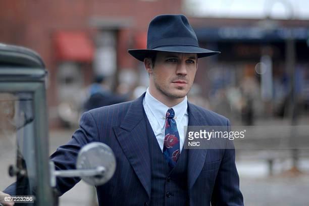 TIMELESS 'Last Ride of Bonnie Clyde' Episode 108 Pictured Matt Lanter as Wyatt Logan