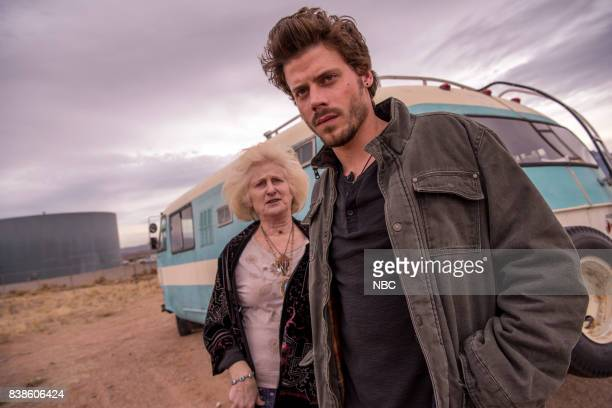 MIDNIGHT TEXAS 'Last Temptation of Midnight' Episode 108 Pictured Joanne Camp as Xylda Francois Arnaud as Manfred