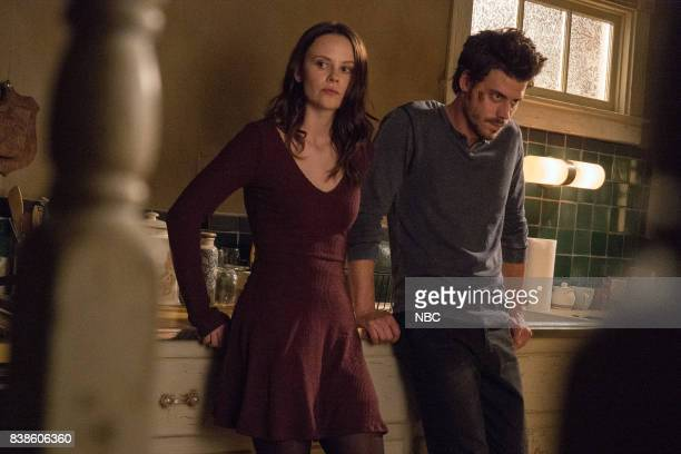 MIDNIGHT TEXAS 'Last Temptation of Midnight' Episode 108 Pictured Sarah Ramos as Creek Francois Arnaud as Manfred