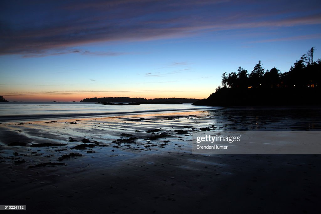 Last Tofino Glow : Stock Photo
