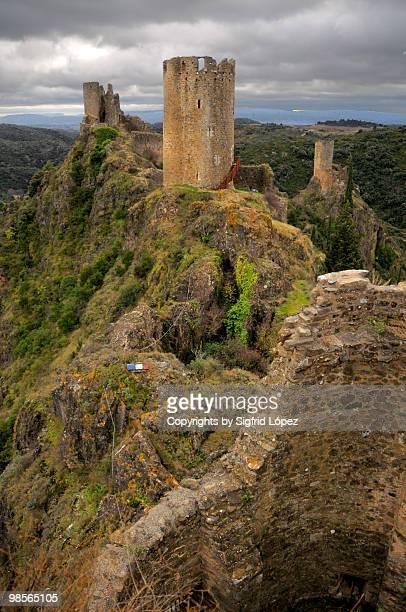 Lastours castle