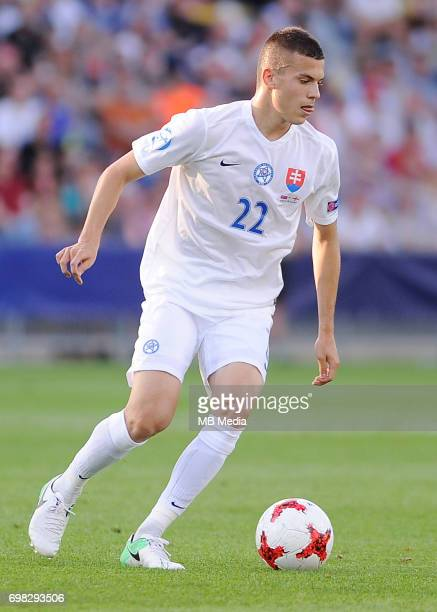 Laszlo Benes during the UEFA European Under21 match between Slovakia and England at Kolporter Arena on June 19 2017 in Kielce Poland
