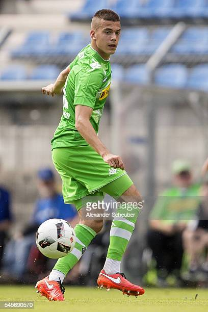 Laszlo Benes of Borussia Moenchengladbach during the friendly match between SV Waldhof Mannheim and Borussia Moenchengladbach at CarlBenz Stadium on...