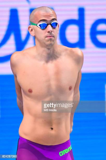 Laszlo Cseh during the Budapest 2017 FINA World Championships on July 28 2017 in Budapest Hungary