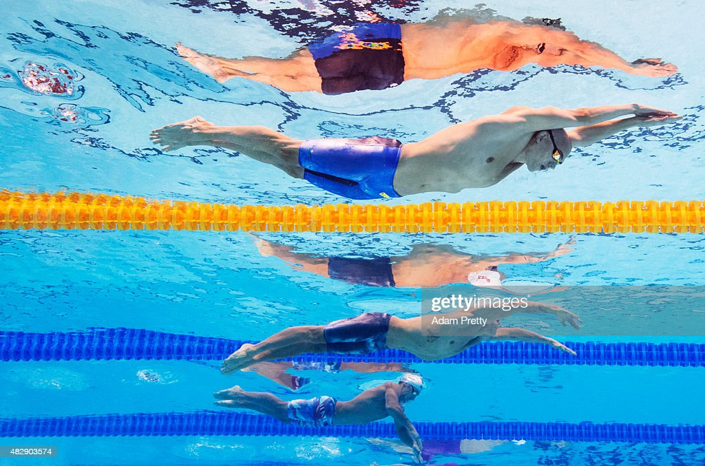 Swimming - 16th FINA World Championships: Day Eleven
