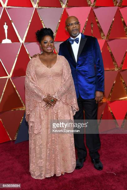 LaTanya Richardson and Samuel L Jackson attend the 89th Annual Academy Awards at Hollywood Highland Center on February 26 2017 in Hollywood California