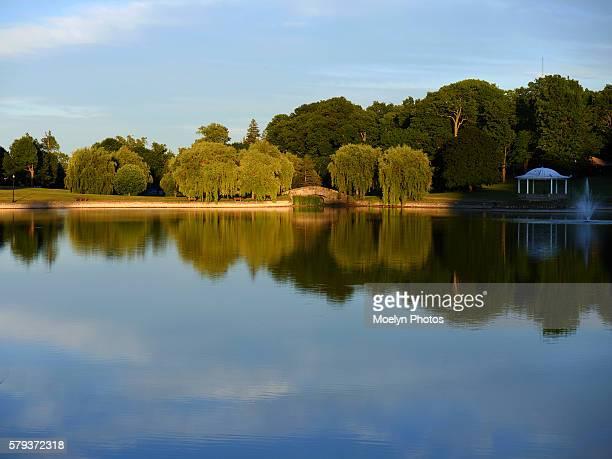Late Afternoon at Hiawatha Lake-Syracuse NY