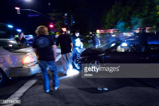 Late Night Car Crash