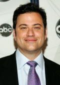 Late night host Jimmy Kimmel attends the ABC Upfront presentation at Lincoln Center on May 15 2007 in New York City