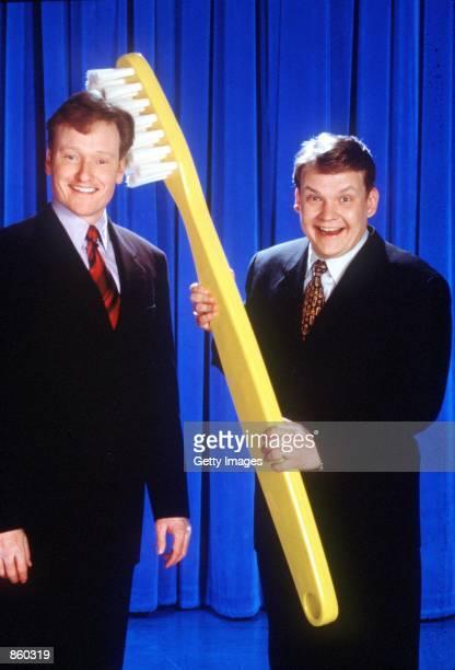 'Late Night with Conan O''Brien' Anniversary Special Conan O''Brien and Andy Richter Photo credit James Sorensen NBC Inc
