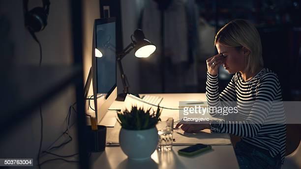 Lange Nächte im Büro