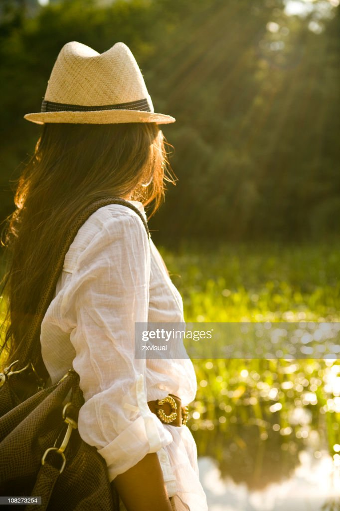 Late Summer Glow : Stock Photo