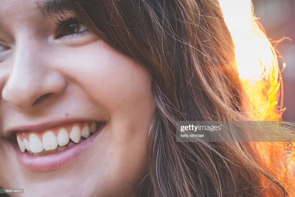Late summer smile : Stock Photo