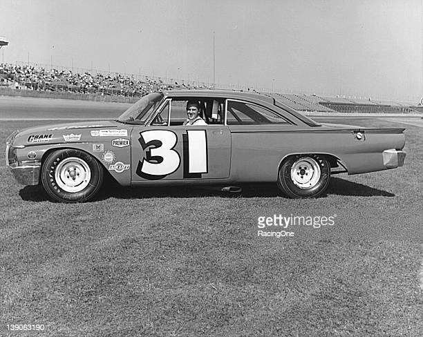 Northeast Modified star Gerald Chamberlain of Everett PA brought this 1961 Ford to Daytona International Speedway and qualified for the Permatex 300...