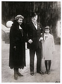 Latest Likeness of Ex Kaiser Wilhelm Princess Hermine and her Youngest Daughter at Doorn Doorn Holland Photo shows The former German Emperor his...