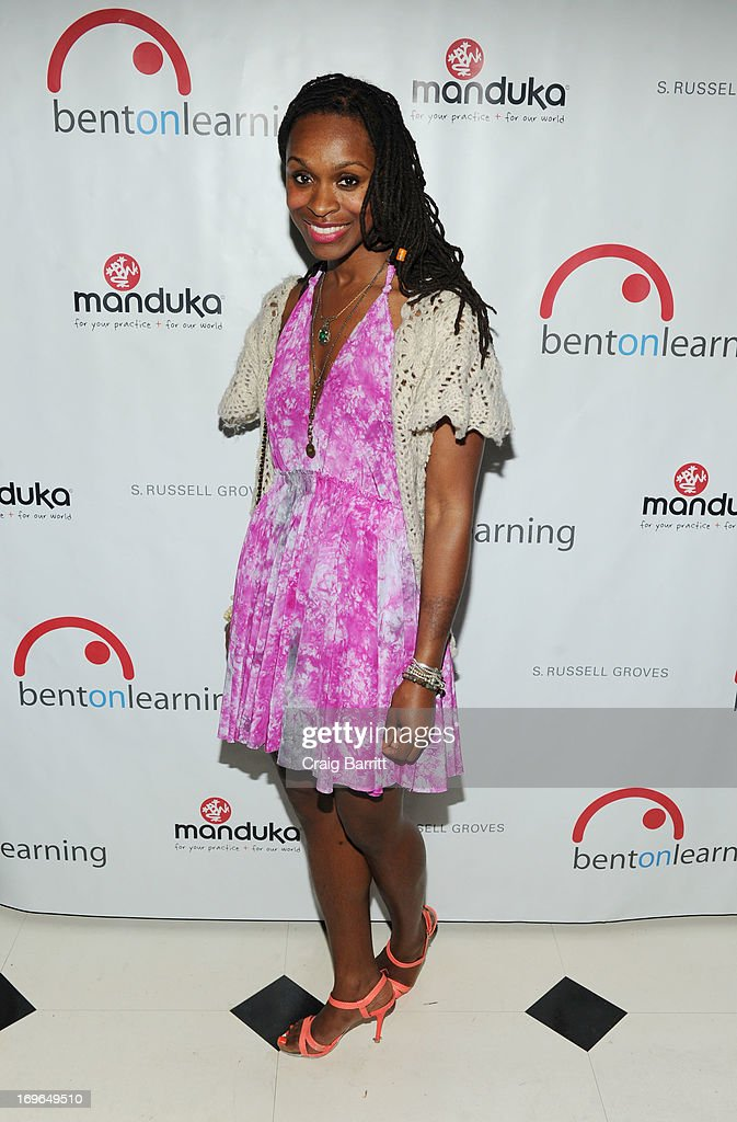 Latham Thomas attends the 2013 Bent on Learning Spring Fling Benefit at Indochine on May 29, 2013 in New York City.