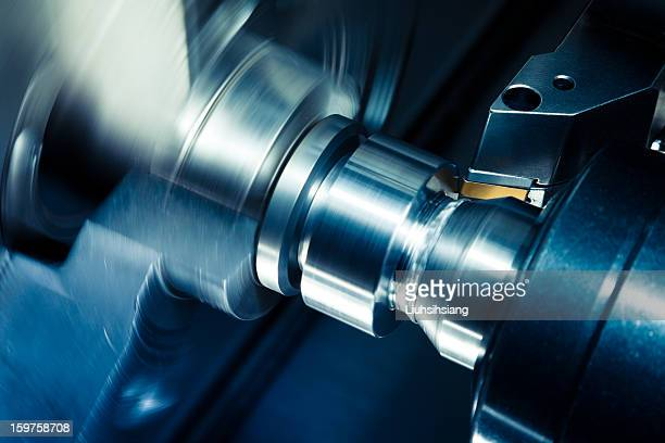 CNC Lathe Processing.