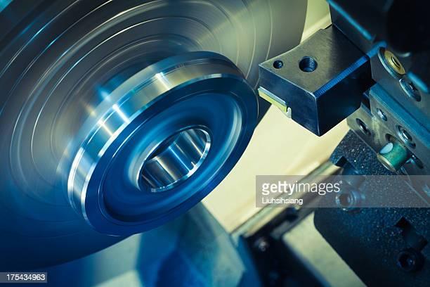 CNC Drehmaschine Verarbeitung.