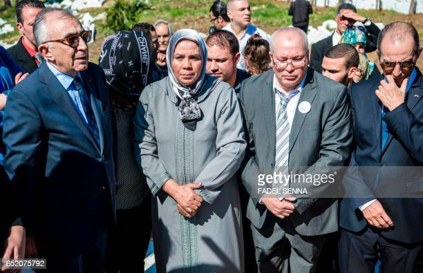 Latifa Ibn Ziaten president of the French IMAD association and mother of French soldier Imad Ibn Ziaten who was killed by Islamist gunman Mohamed...