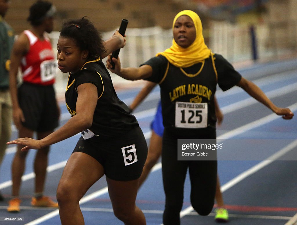 City League Boys And Girls Track Championships At Reggie Lewis