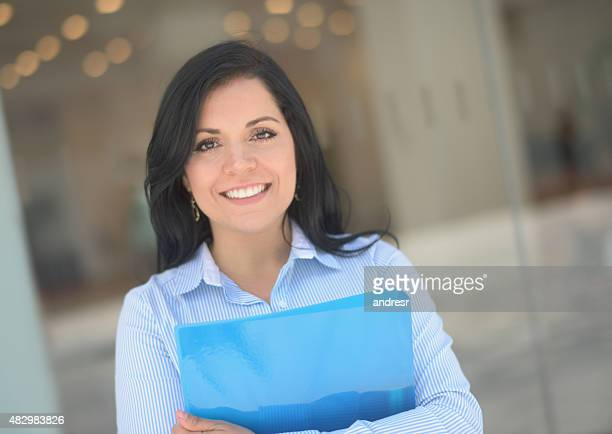 Latin American business woman